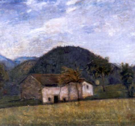 Pace, 1923 Olio su tela, cm.70x90 Busto Arsizio, Famiglia Bustocca