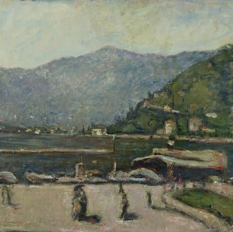 Como, 1923 c. Olio su tela, cm. 70x90 Verbania, Museo del Paesaggio (deposito)