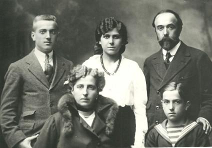 1915 - la famiglia del pittore