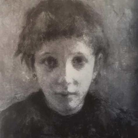 Testa. Malinconia (Fanciulla malata), 1891 Olio su tela, cm.35,5x45 Milano, Galleria d'Arte Moderna