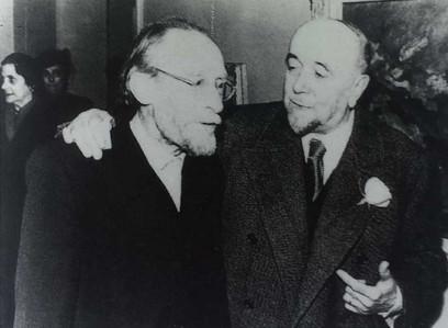 1951 - Arturo Tosi con Ugo Bernasconi