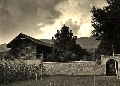 1930 - Rovetta, studio del pittore, veduta esterna