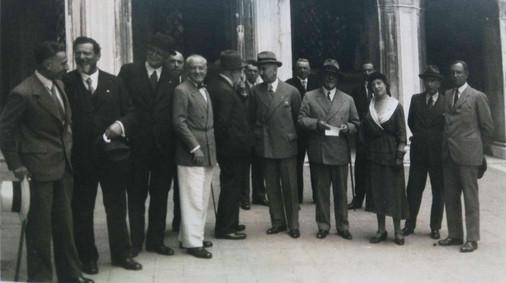 1932 - Tosi alla XVIII Biennale di Venezia