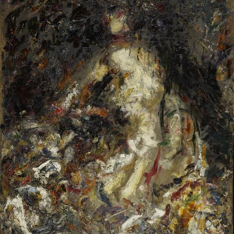 Nudo, 1895 olio su tela, cm.113,7x86,2