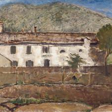 Orti di Vilminore,1923 olio su tela, cm.70x90