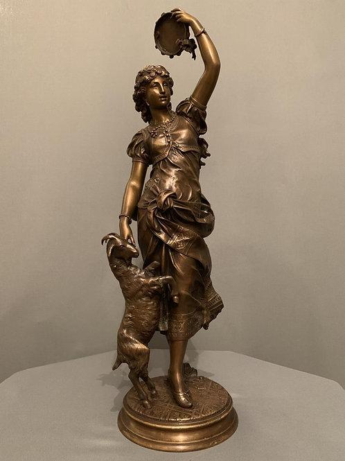 """« Esméralda » – Jean-Baptiste Germain (1841-1910)"""""""