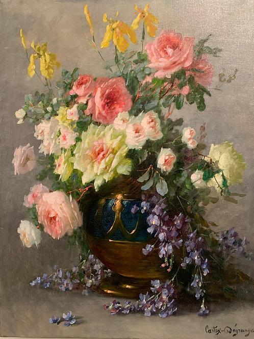 Bouquet de Roses - Castex Dégrange (1840-1918)