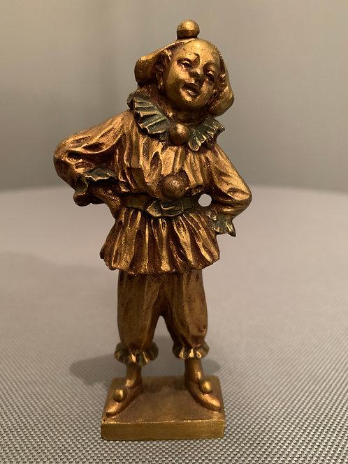 « Pierrot » - Bronze de Dominique Alonzo XXe siècle -
