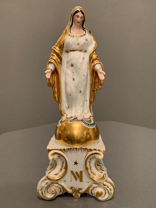 Vierge en Porcelaine De Paris
