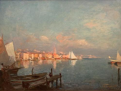 """""""Les Martigues - Edmond Tapissier (1861-1943)"""""""