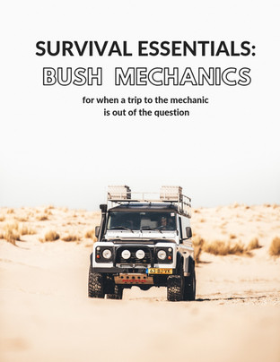 Survival Essentials: Bush Mechanics