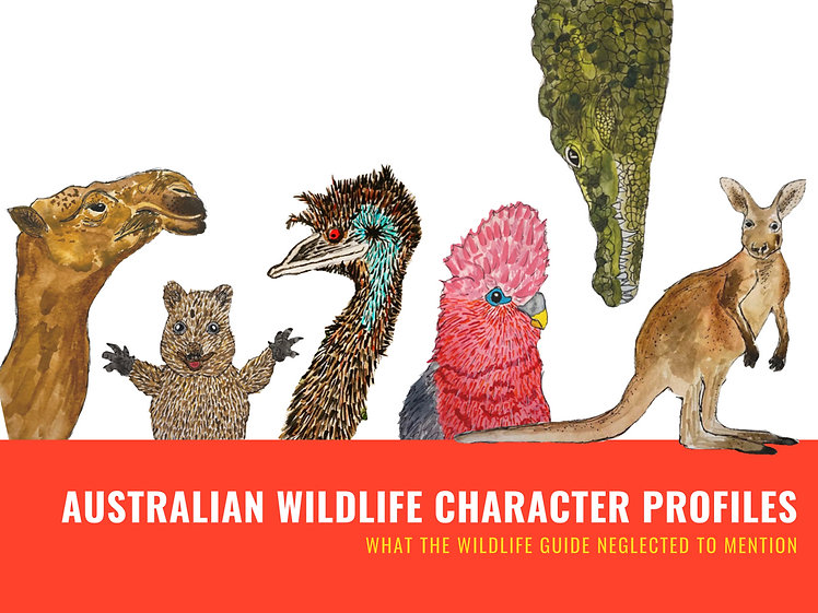 Australian Wildlife Character Profiles_