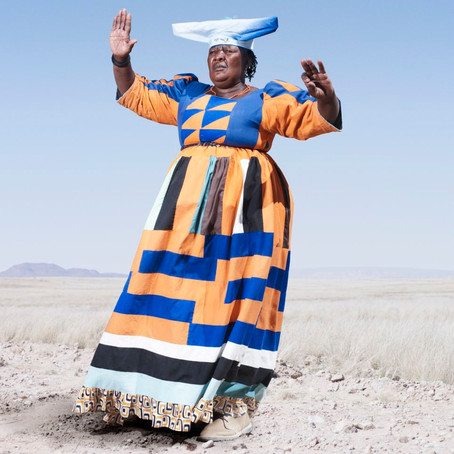 Victorian Gowns in the Namibian Desert
