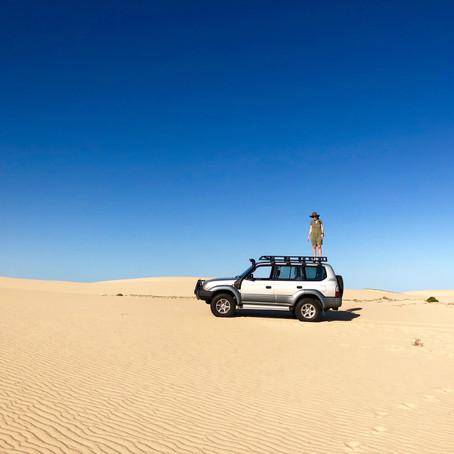 A Sand Dune Safari