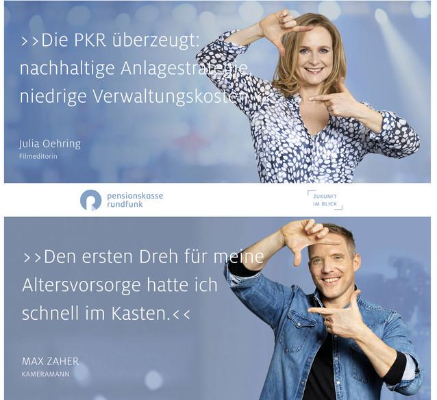 Testimonial Campaign - Pensionskasse Rundfunk