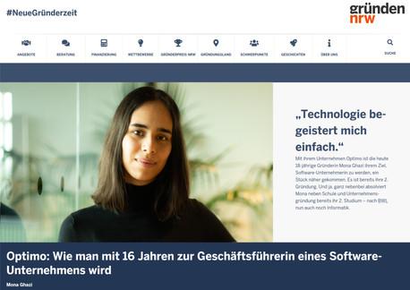 Press Portrait for Ministerium für Wirtschaft, Innovation, Digitalisierung und Energie NRW