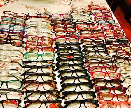 Prescription eyeglasses were shipped to the Phils from TCOP