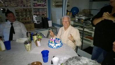 Celebrating Pastor D's 90th birthday