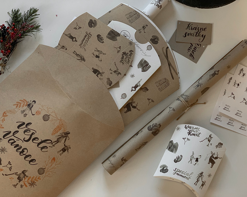Ekologický balicí papír