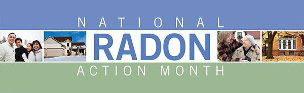 January is National Radon Action Month.j