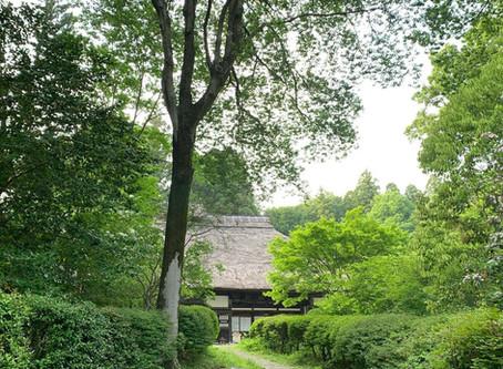 益子参考館の屋根