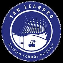 San Leandro Unified School District logo.