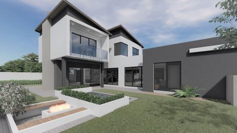 Garden View - Architectural Rendering