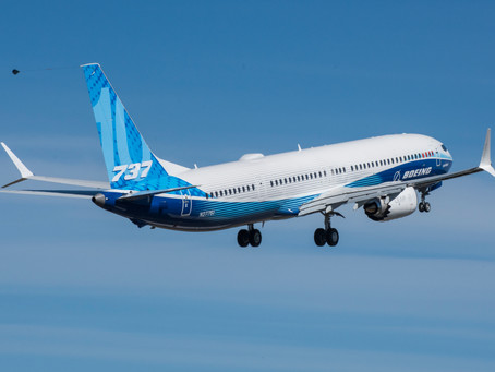BOEING 737 MAX10 COMPLETES FIRST FLIGHT