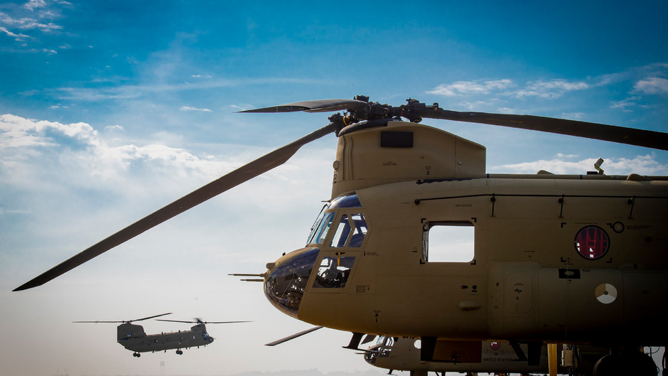 First CH-47F Chinook DELIVERED to Royal Netherlands Air Force BY BOEING