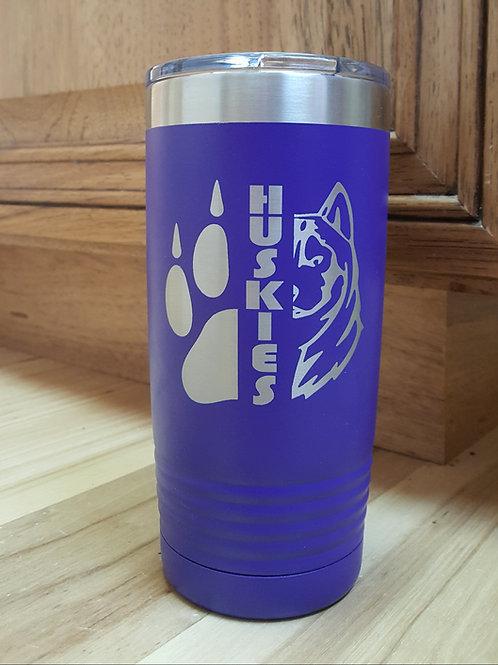 North Fremont Huskies Customized 20 ounce Tumbler