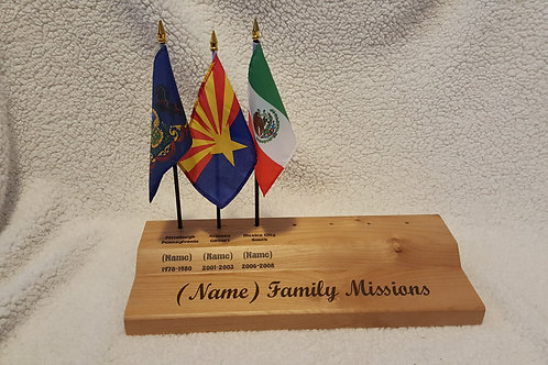 Family Missions Display (6 Positions)