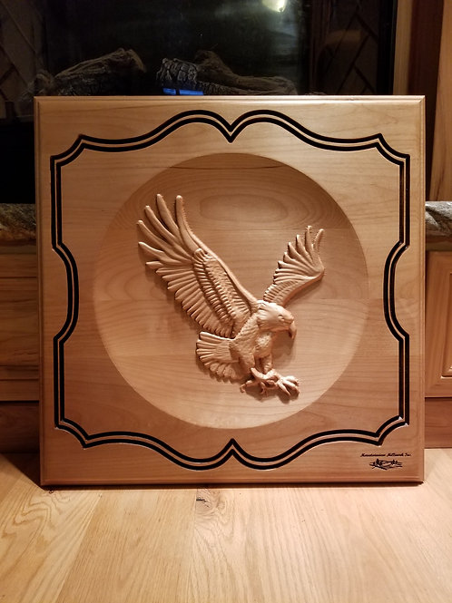 Large Eagle Plaque