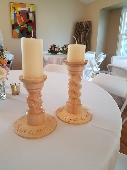 Classic Spiral Candle Holder 8""