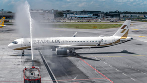 STARLUX's Inaugural Flight To Singapore