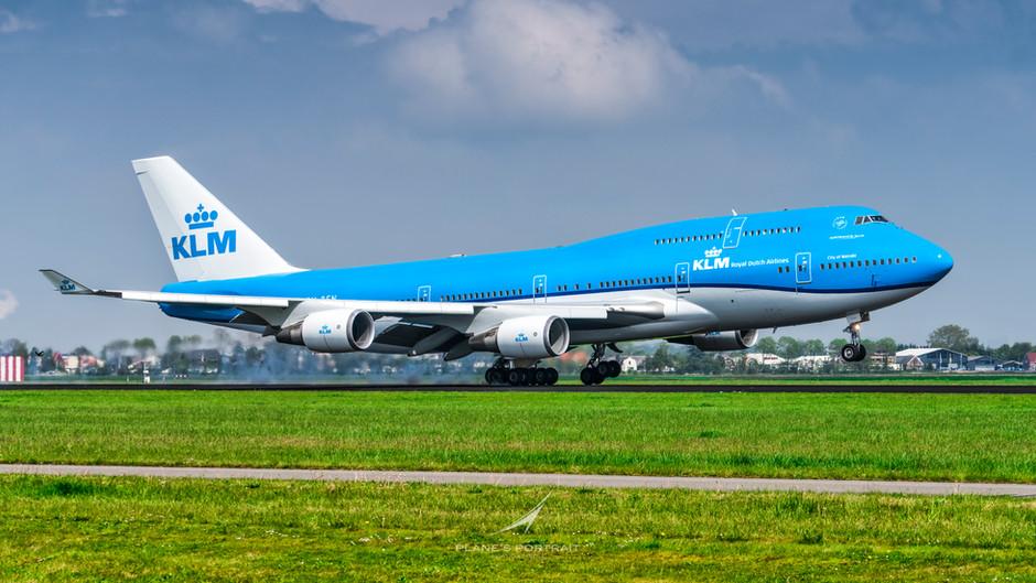 KLM's FINAL B747 REVENUE FLIGHT