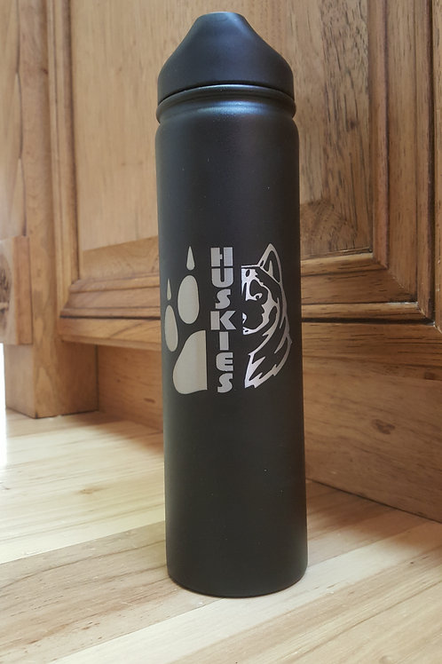 North Fremont Huskies 27 ounce Insulated Water Bottle