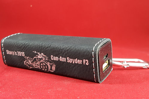 Can Am Leatherette Bank Charger