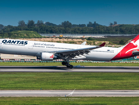 QANTAS TO CANCEL ALL INTERNATIONAL FLIGHTS