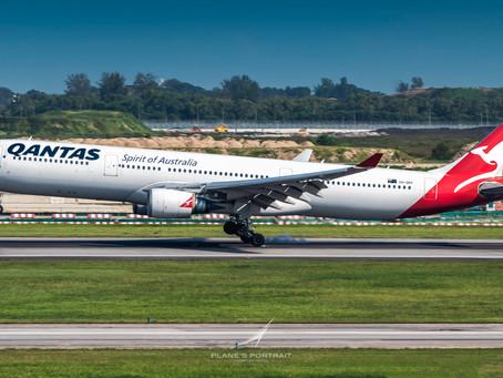 QANTAS TO CANCEL ALL INTERNATIONAL FLIGHTS