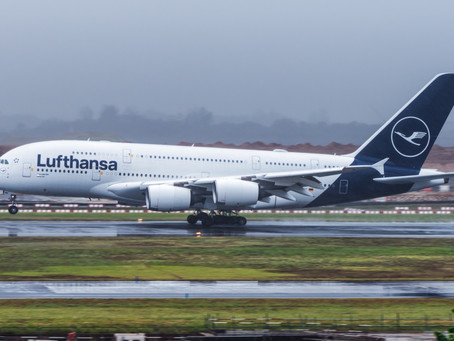 LUFTHANSA PLANS TO REDUCE FLIGHT CAPACITY BY 50%
