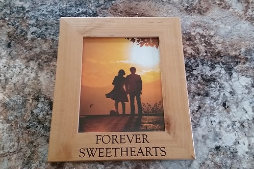 Forever Sweethears Picture Frame 10 x 13