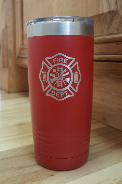 Firefighter 20 oz. Insulated Tumber