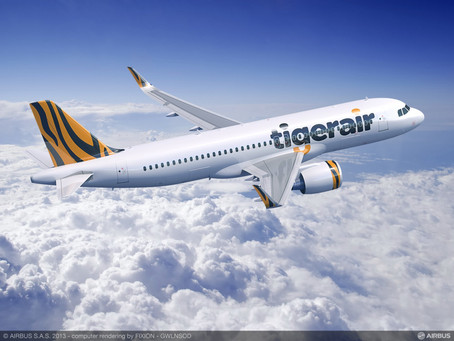 TigerAir Taiwan Selects Pratt & Whitney Engines for New A320Neos