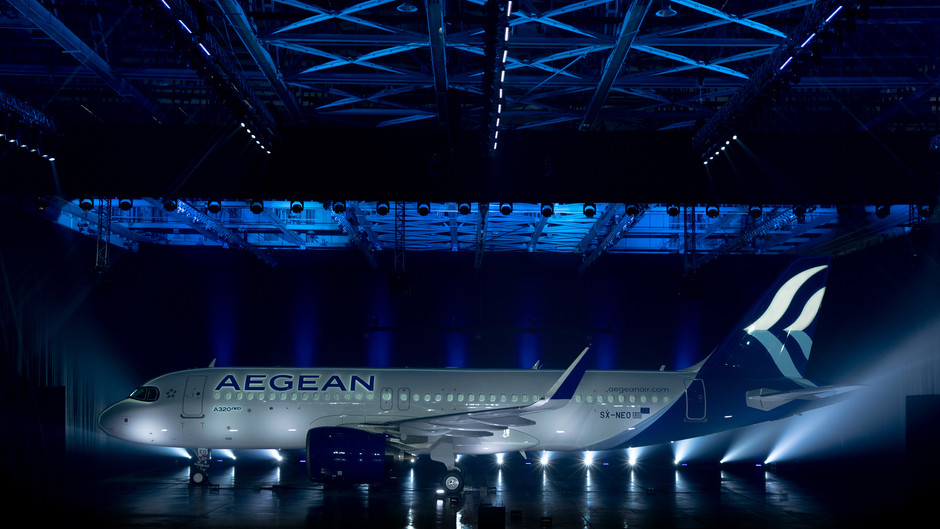 AEGEAN Airlines Takes Delivery of First Airbus A320neo Aircraft Powered by Pratt & WhitneY