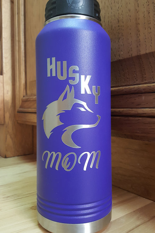 North Fremont Huskies 32 ounce Water Bottle