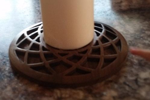 Weave Candlestick Holder