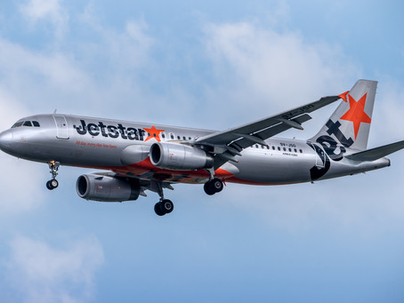 JETSTAR ASIA HALTS SERVICES FOR THREE WEEKS