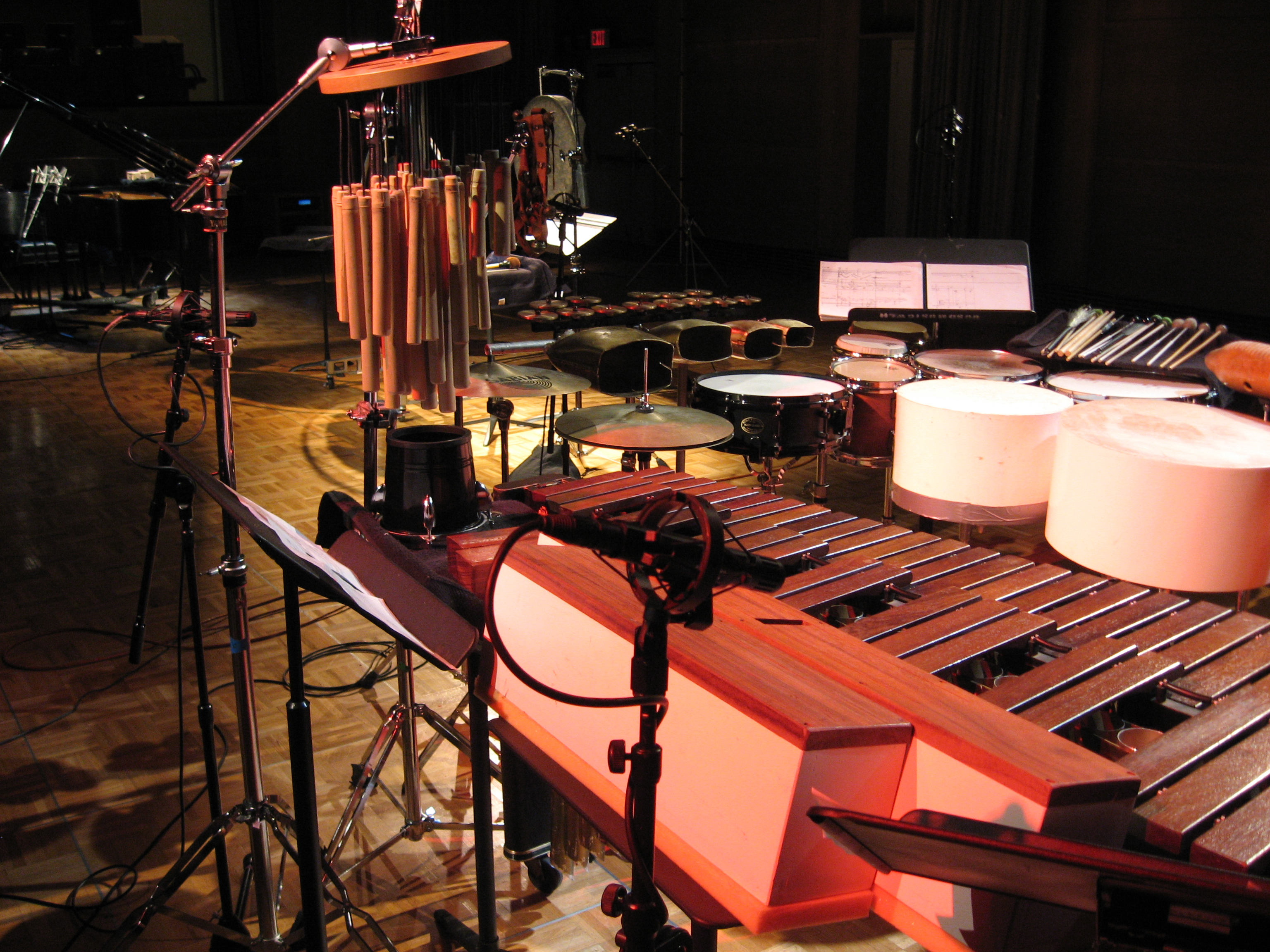 Percussion Set-up