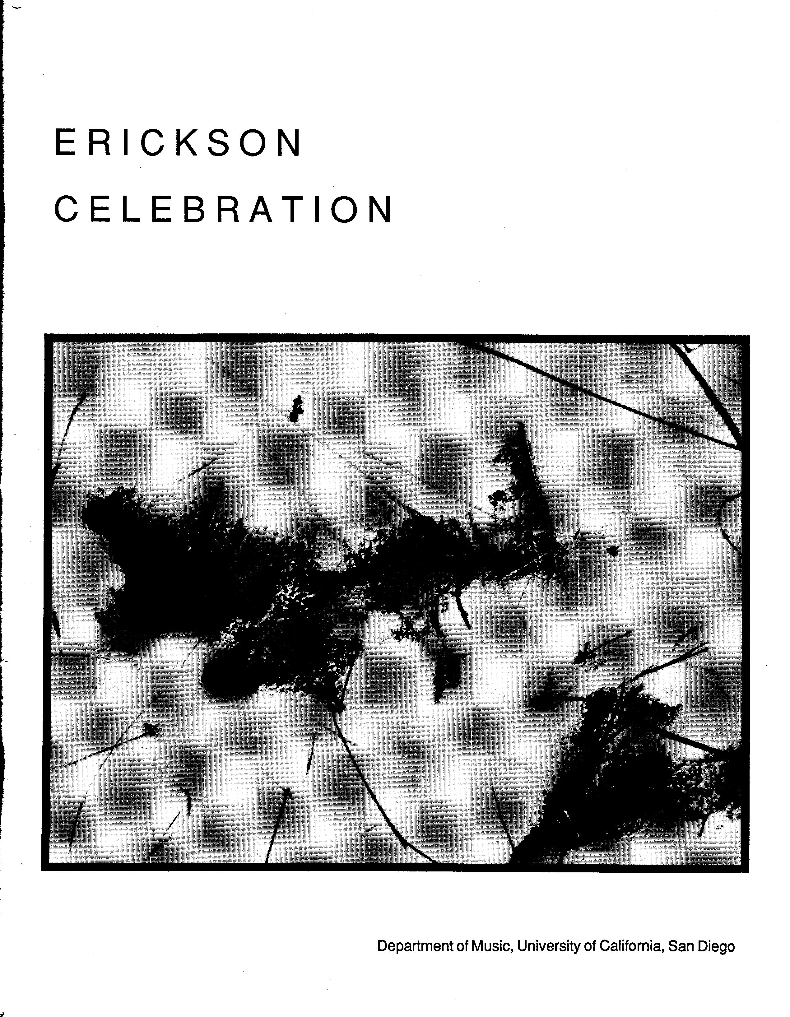 1987 Erickson Celebration