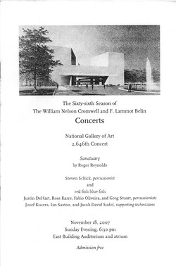 2007 Sanctuary NGA Program